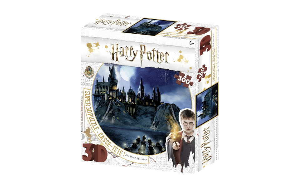 Harrison Super 3D Harry Potter 300 Piece Jigsaw Puzzle - Hogwarts