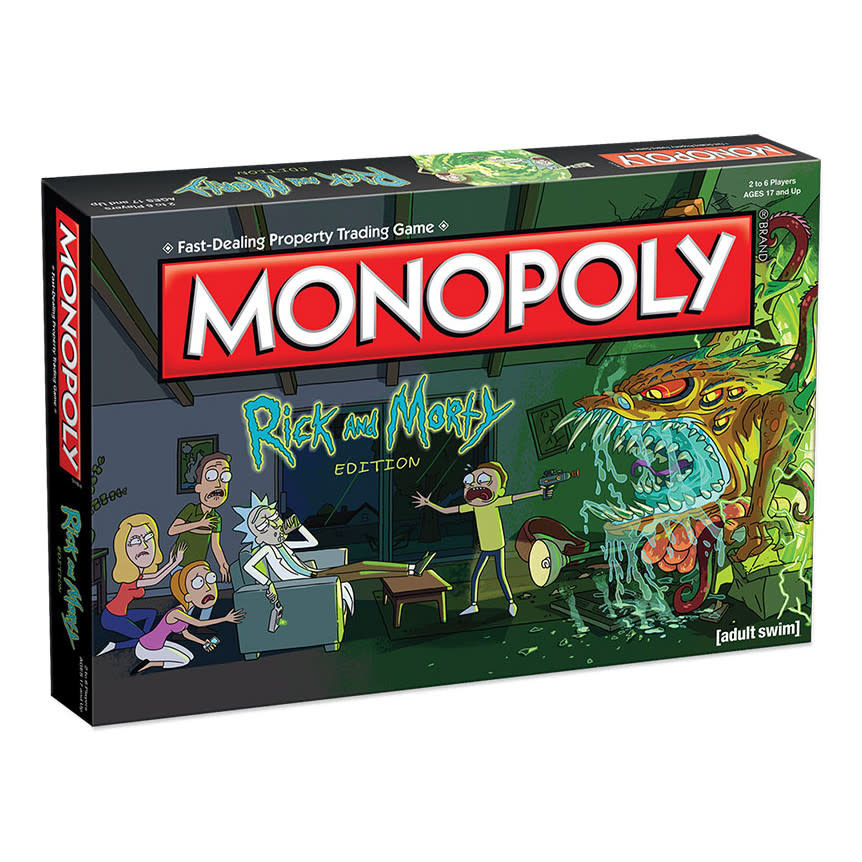 CLD Monopoly Rick & Morty - Engelstalig Bordspel