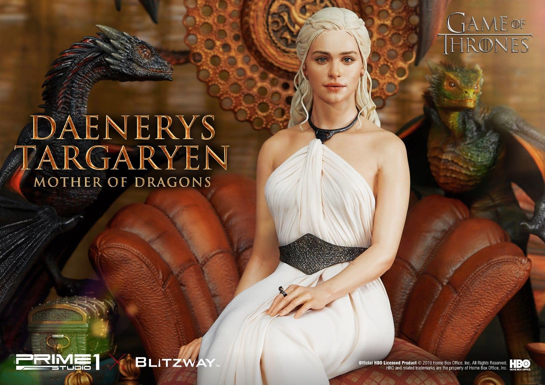 Prime 1 Studio Pre order: Game of Thrones: Daenerys Targaryen - Mother of Dragons Statue