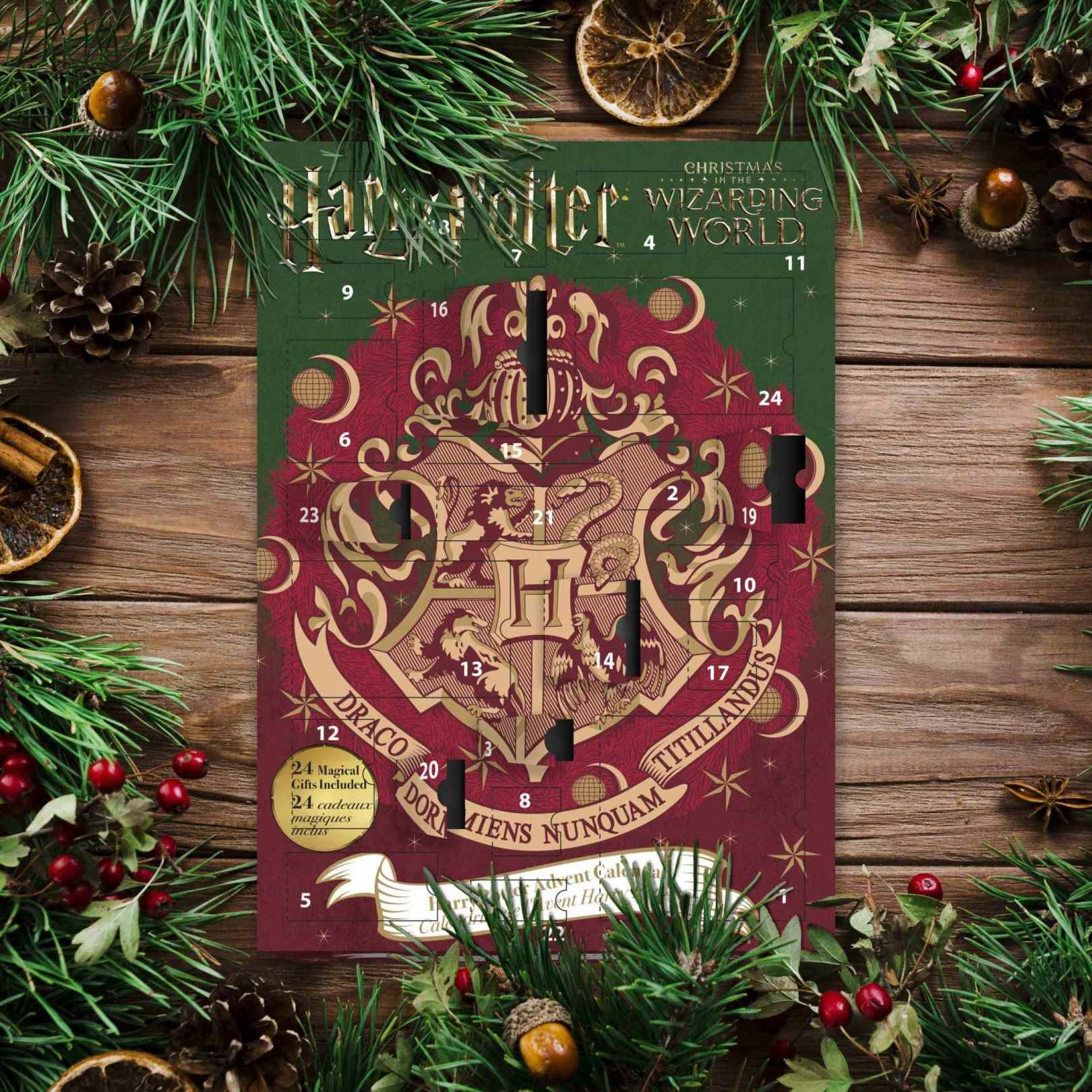 fame bros Harry Potter: Advent Calendar with 24 Gifts