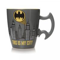 Batman Stoneware Mug City Scene