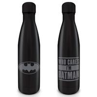 Batman : Who Cares I'M Batman Metal Drinkfles