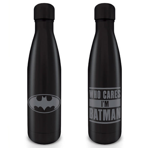 Hole In The Wall Batman : Who Cares I'M Batman Metal Drinkfles