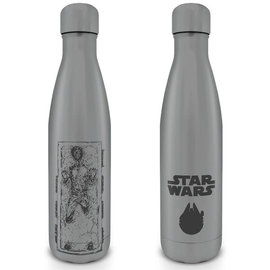 Hole In The Wall Star Wars Han Solo Carbonite Metal Drinkfles