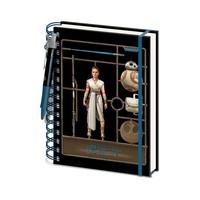 Star Wars: The Rise of Skywalker Airfix Rey A5 Notebook