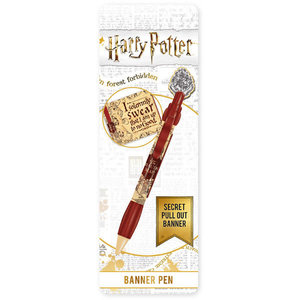 Hole In The Wall Harry Potter Marauder's Map Banner Pen