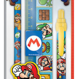 Hole In The Wall Super Mario Character Stationery Set