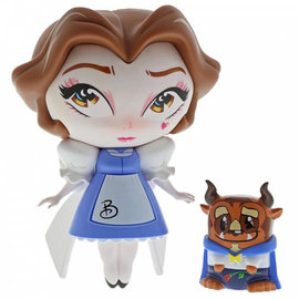 enesco Miss Mindy Belle with Beast Vinyl Figurine