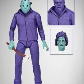 NECA Friday the 13th: Jason - Video Game Look with Music - 7 inch Scale AF