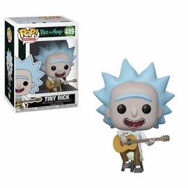 FUNKO Pop! Cartoons: Rick and Morty - Tiny Rick with Guitar
