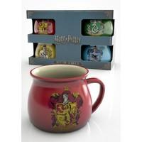 Harry Potter House Crests 4 mug gift set - Gift Box