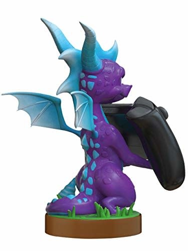 exquisite games Cable Guy - Spyro the Dragon Ice Phone & Controller Holder