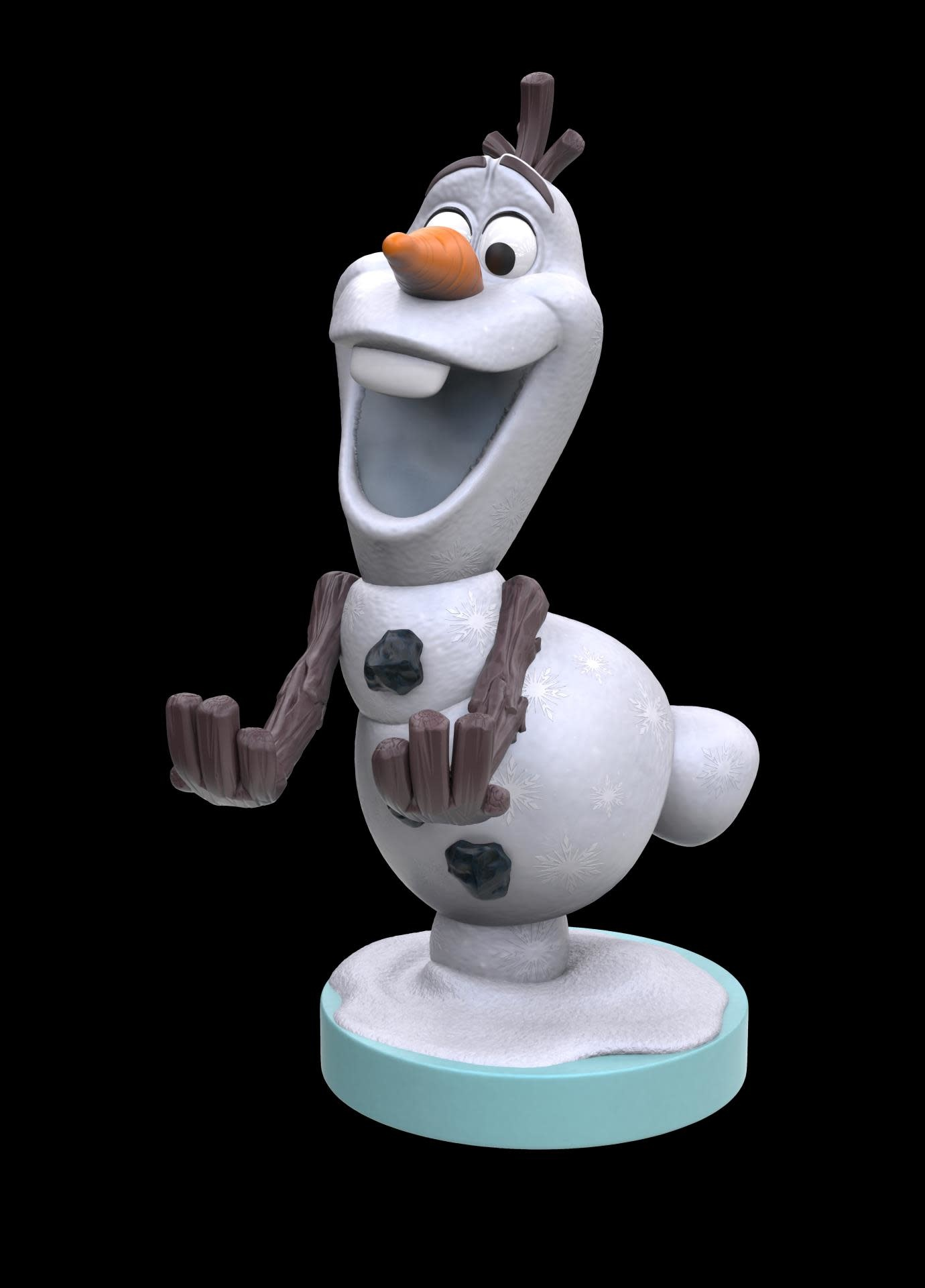 exquise gaming Cable Guy - Disney Frozen Olaf Phone & Controller Holder