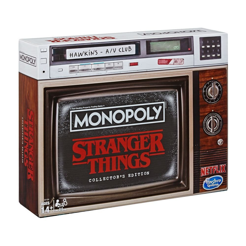 HASBRO Monopoly Stranger Things Collector Edition