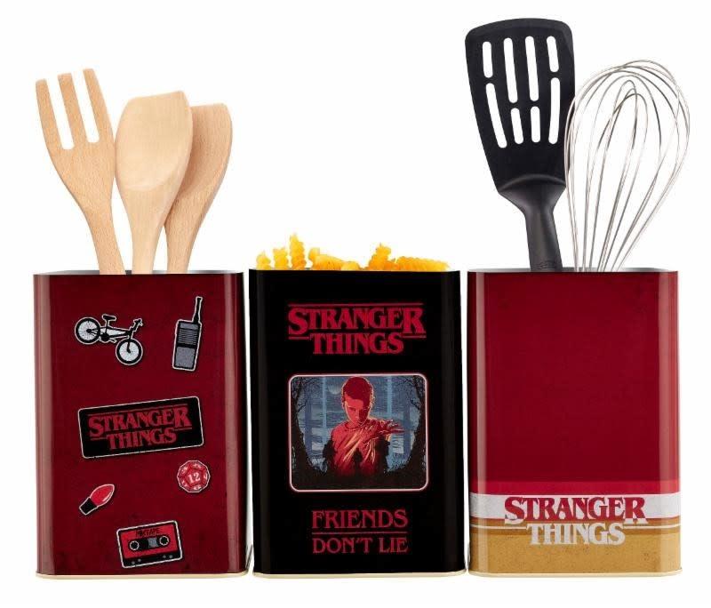 FUNKO Stranger Things: Retro Logo Kitchen Storage Set