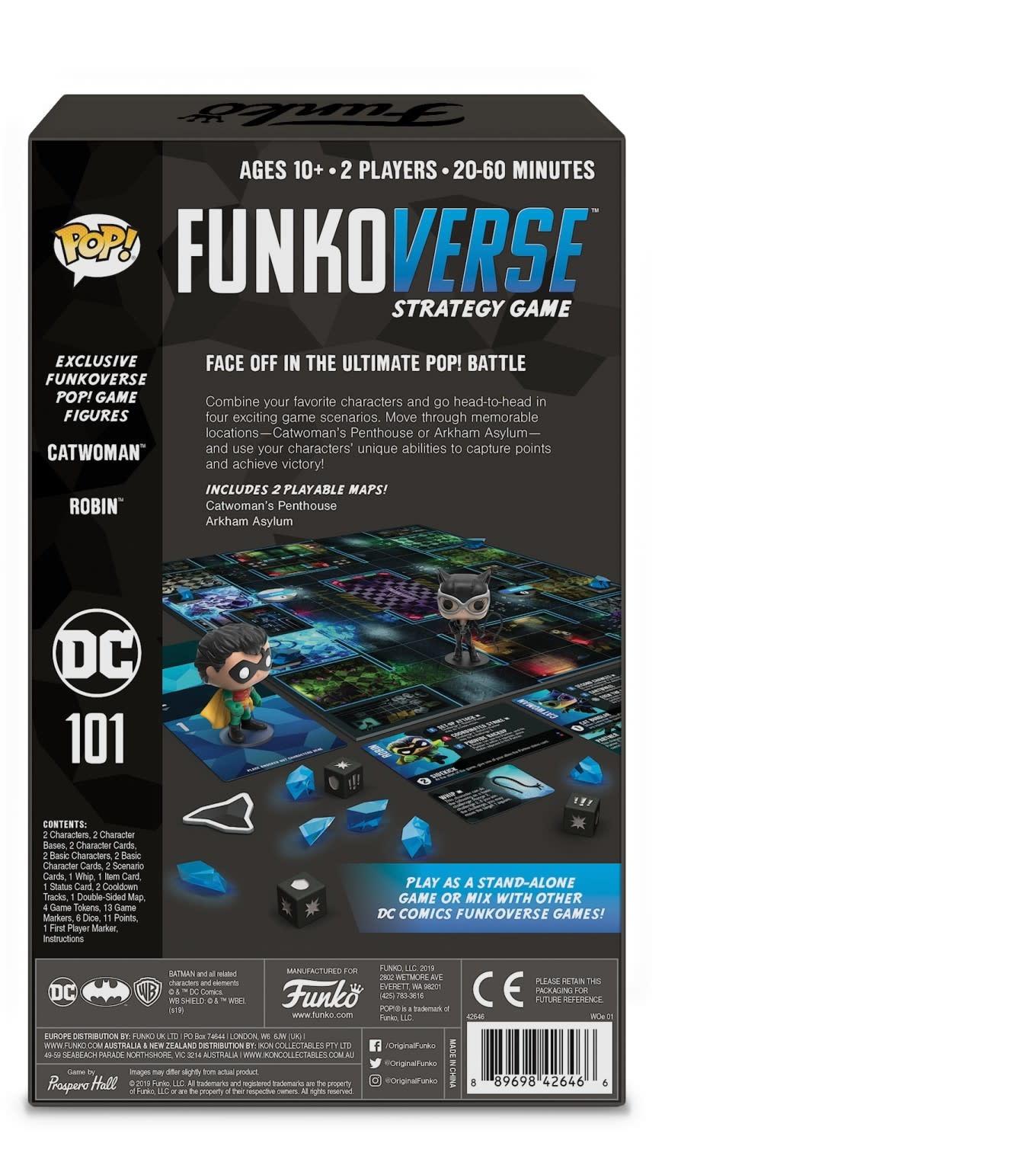 FUNKO Funko Pop! Funkoverse DC Comics 101 Expandalone