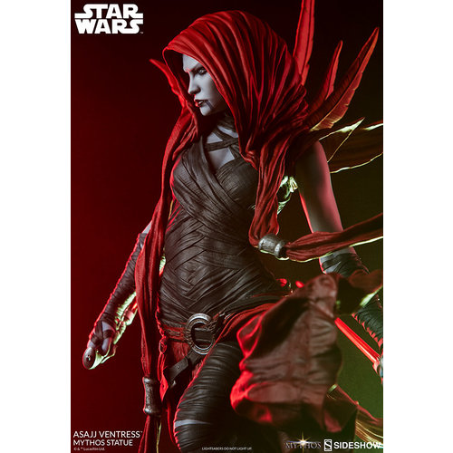 Sideshow Star Wars: Asajj Ventress Mythos 22 inch Statue