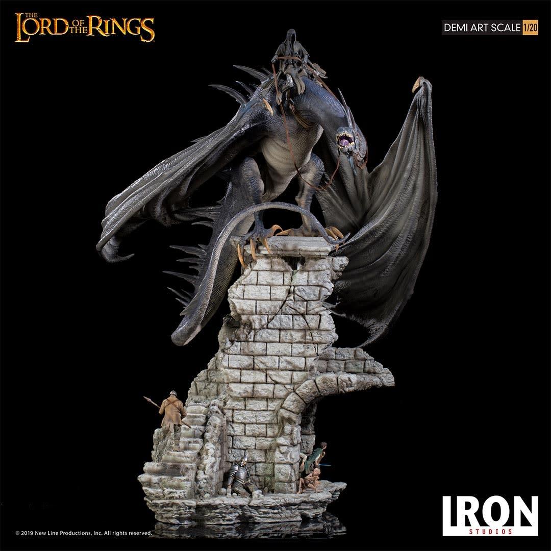 Iron Studio Lord of the Rings: Fell Beast 1:20 Scale Diorama