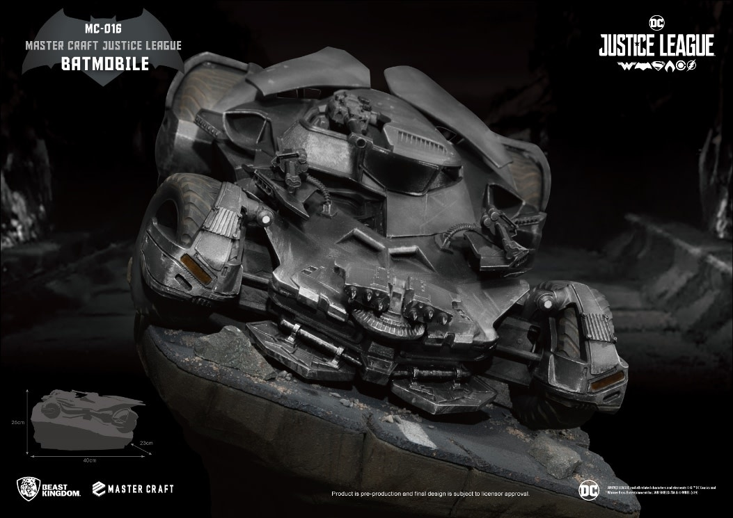 Beast Kingdom DC Comics: Justice League - Master Craft Batmobile Diorama