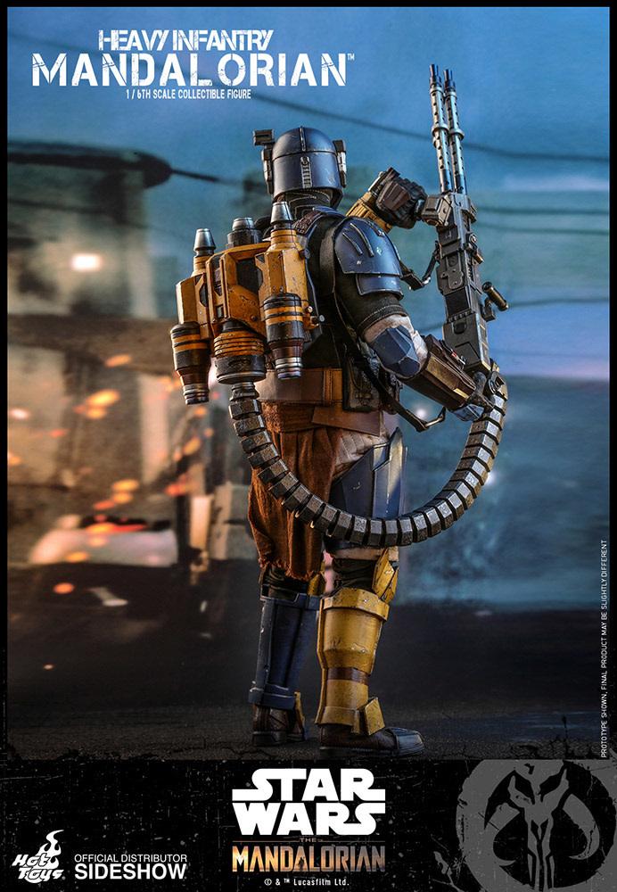 Hot toys Star Wars: The Mandalorian - Heavy Infantry Mandalorian 1:6