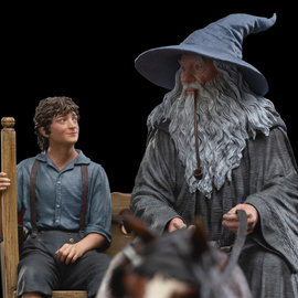 WETA Workshops Gandalf & Frodo - masters collection