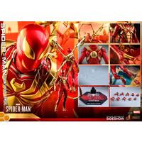 Marvel: Spider-Man Game - Iron Spider Armor 1:6 Scale Figure