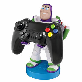 Exquisite Gaming Cable Guy - Kindgom Hearts Buzz Lightyear Phone & Controller Holder
