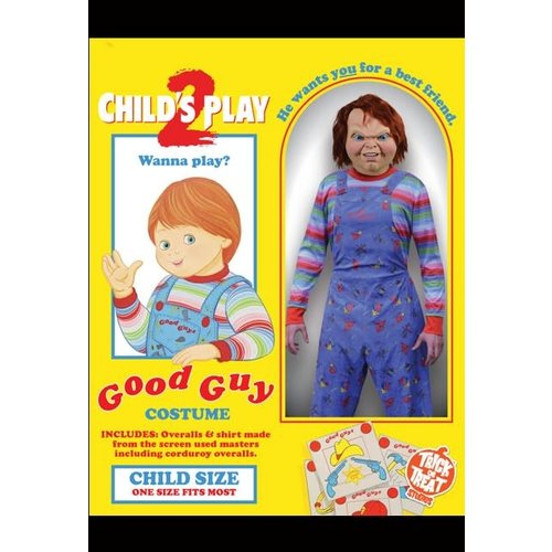 Trick or Treat Studios Child's Play 2 Bride of Chucky: Deluxe Good Guy - Child Costume