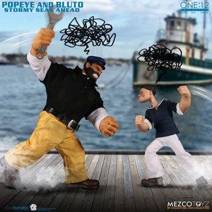The One:12 Collective: Popeye and Bluto Stormy Seas Ahead Box Set