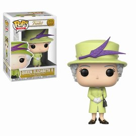 FUNKO Pop! Celebs: Royal Family - Queen Elisabeth II Green Outfit