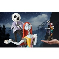 Nightmare Before Christmas: Jack and Sally Deluxe Statue