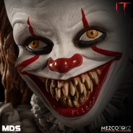 Mezcotoys IT: Designer Series - Deluxe Pennywise 6 inch Action Figure