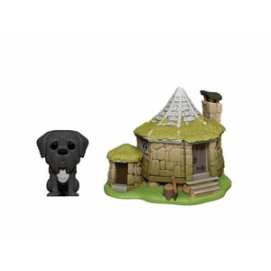 FUNKO Pop! Town: Harry Potter - Hagrid's Hut with Fang
