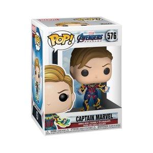 FUNKO Pop! Marvel: Avengers Endgame - Captain Marvel with New Hair