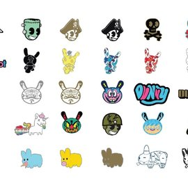 Kidrobot Pinning and Winning 2: The Revenge  ( price per piece)