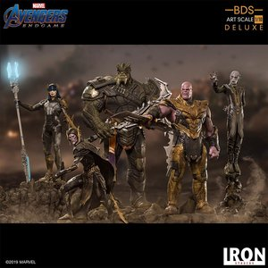 Iron Studios Marvel: Avengers Endgame - iron Studio diorama  Set  1:10 Scale