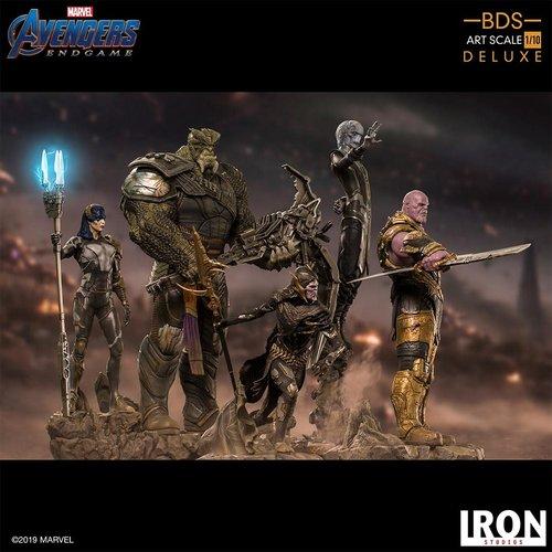 Iron Studios Marvel: Avengers Endgame - iron Studio diorama  Set  1:10 Scale