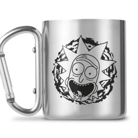Hole In The Wall Rick and Morty Carabiner Mug