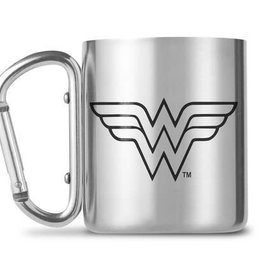 Hole In The Wall DC Comics Wonder Woman Carabiner Mug