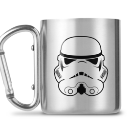 Hole In The Wall Stormtrooper Helmet Symbol Carabiner Mug