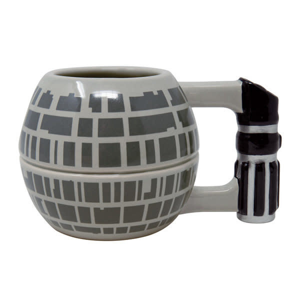 Hole In The Wall Star Wars Death Star Shaped Mug