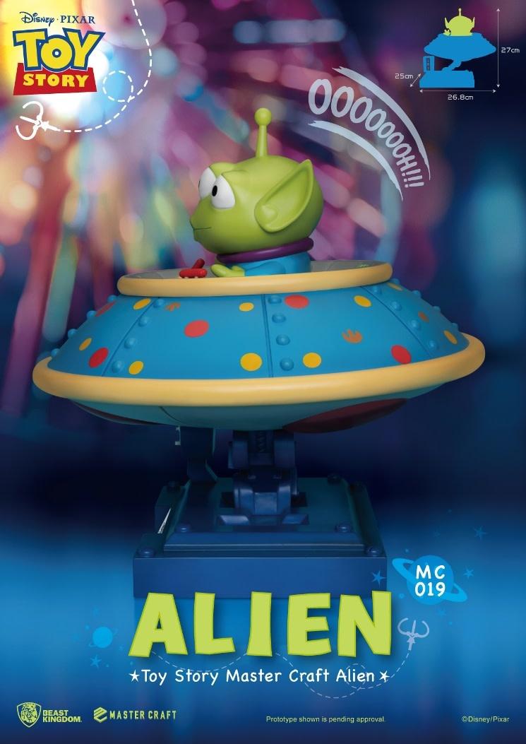 Beast Kingdom Pre order: Disney: Toy Story - Master Craft Alien Statue