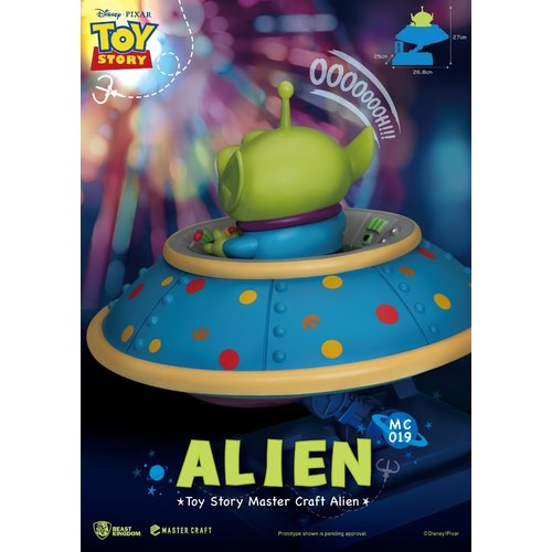 Beast Kingdom Disney: Toy Story - Master Craft Alien Statue