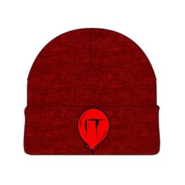 Bioworld IT Pennywise Balloon Marl Cuff Knit Beanie