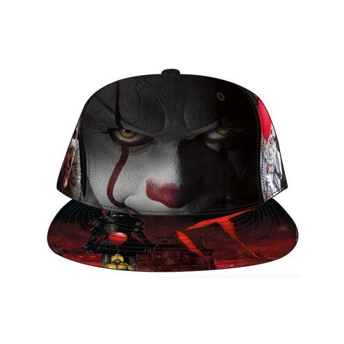 Bioworld Pennywise IT AOP Poster Artwork Snapback Cap