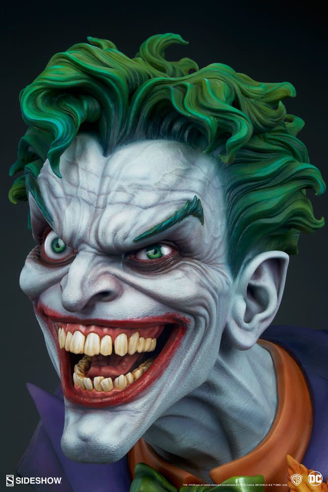 Sideshow Pre order:  DC Comics: The Joker Life Sized Bust