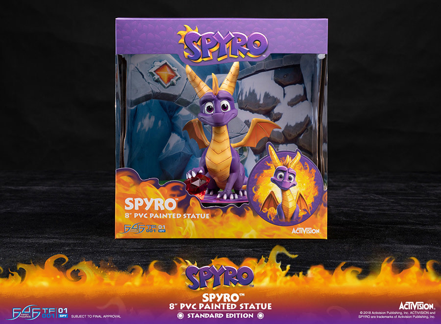 First 4 Figures Spyro the dragon PVC statue