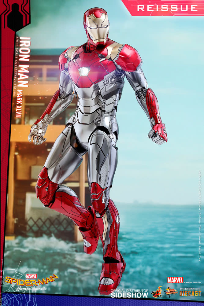 Hot toys Marvel: Spider-Man Homecoming - Iron Man Mark XLVII 1:6 Sc