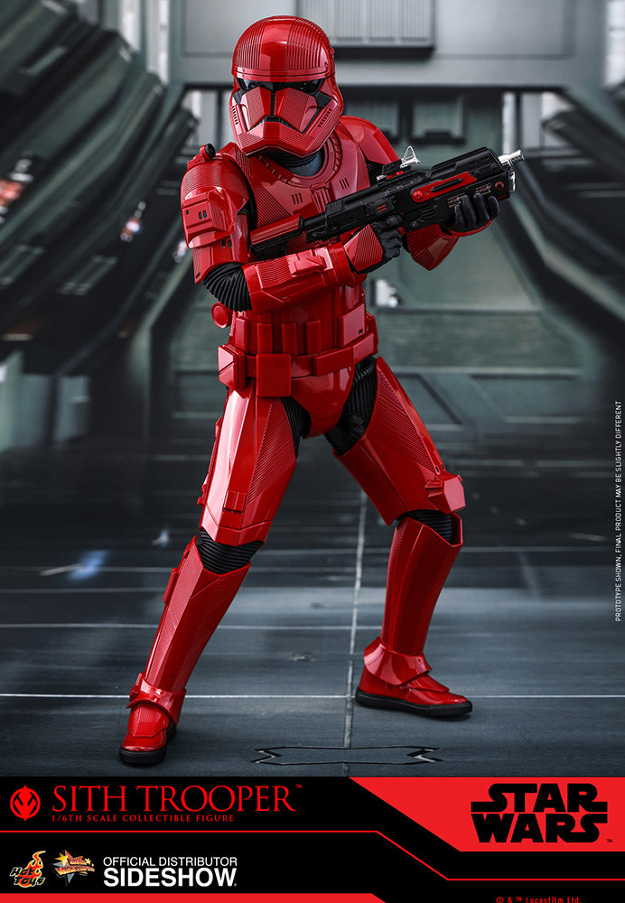 Star Wars: The Rise of Skywalker - Sith Trooper 1:6 Scale Figure