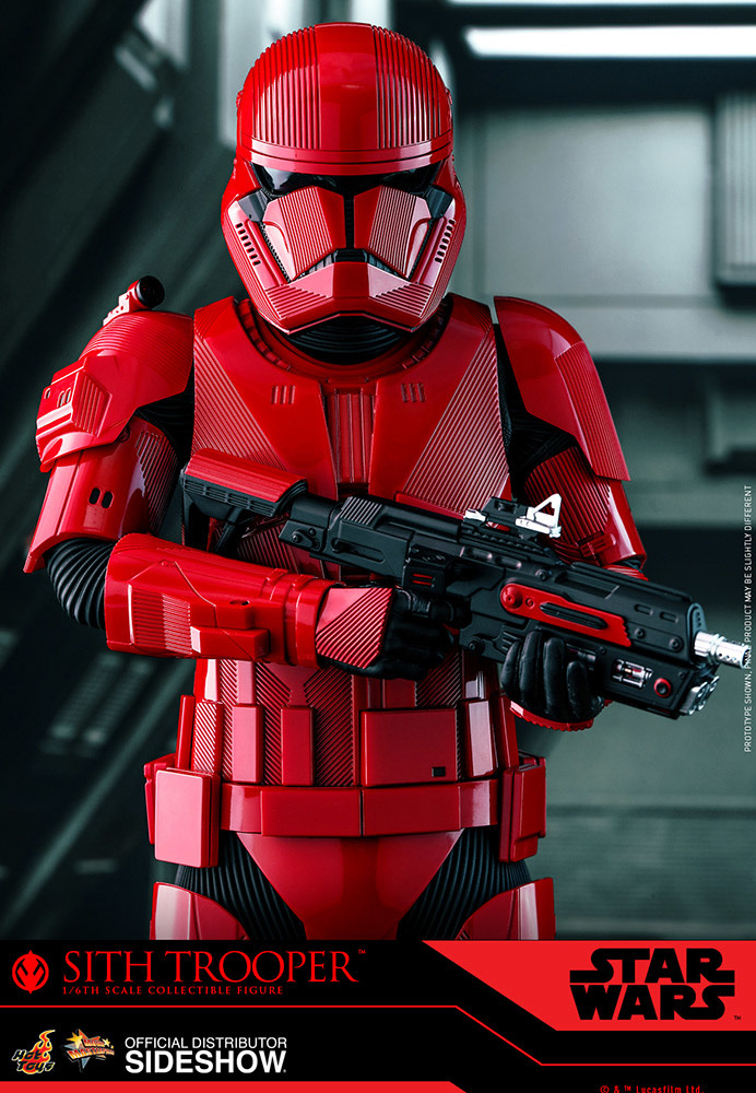 Sideshow Toys Star Wars: The Rise of Skywalker - Sith Trooper 1:6 Scale Figure